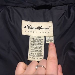 Eddie Bauer Jackets & Coats - Eddie Bauer Black winter coat